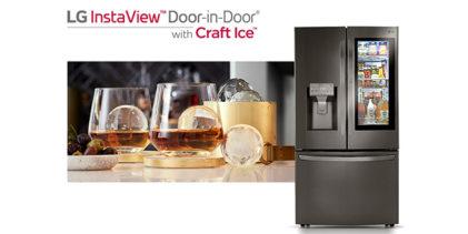 Frigoriferi InstaView LG: Craft Ice e ThinQ 2 inaugurano il 2020