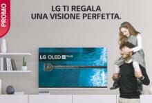 Promozione LG per la festa del papà: il cashback di 200€ è sui TV OLED