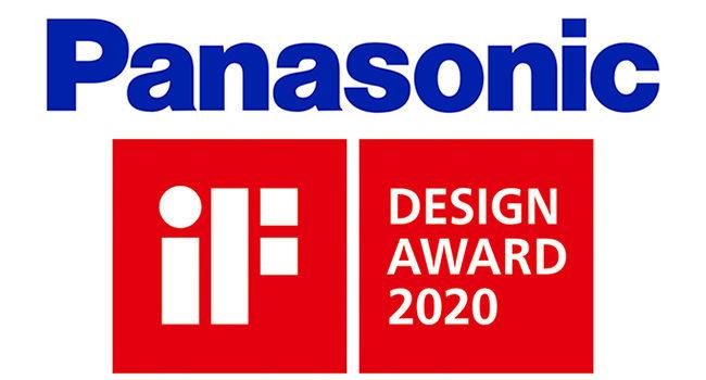 Panasonic celebra il 2020 con quattro iF Design Award