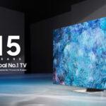 Samsung Primo Produttore Globale di TV per il quindicesimo anno consecutivo