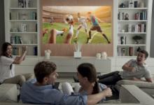 L'esperienza del cinema nel comfort di casa con i proiettori della serie LG CineBeam