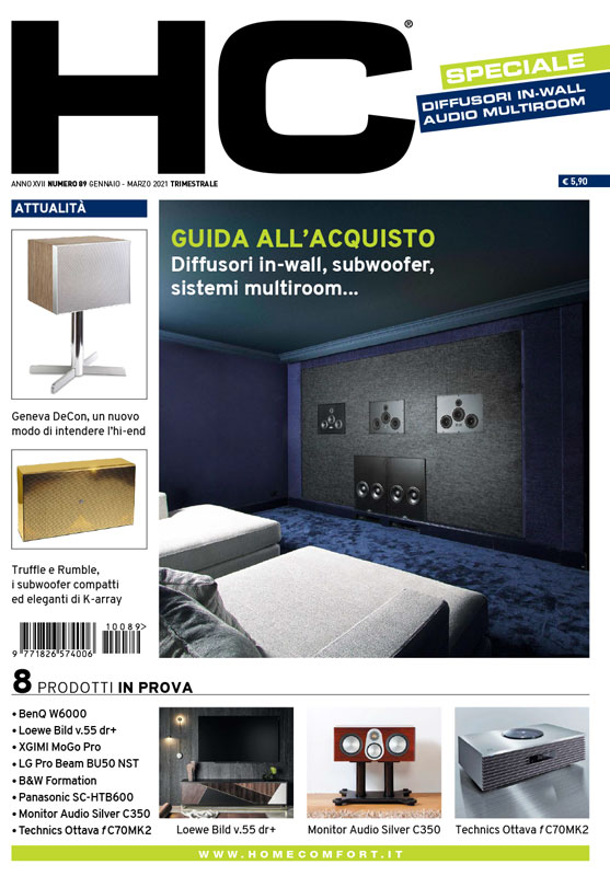 HC 89 - rivista sulla domotica e la tecnologia in casa