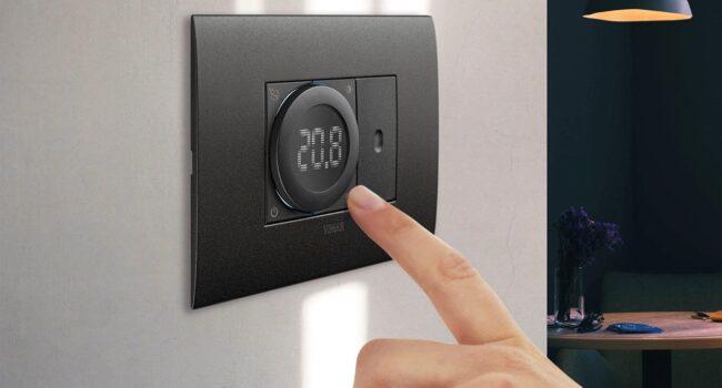 Vimar, nuovo termostato smart, connesso ai tuoi ritmi di vita