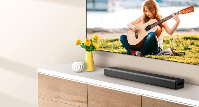 Hisense presenta la sua prima soundbar per un'esperienza audio più coinvolgente e completa