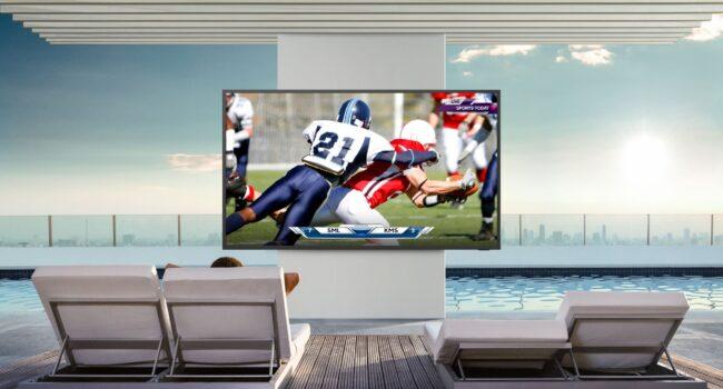 The Terrace, il TV certificato (UL) di Samsung concepito per l'intrattenimento outdoor